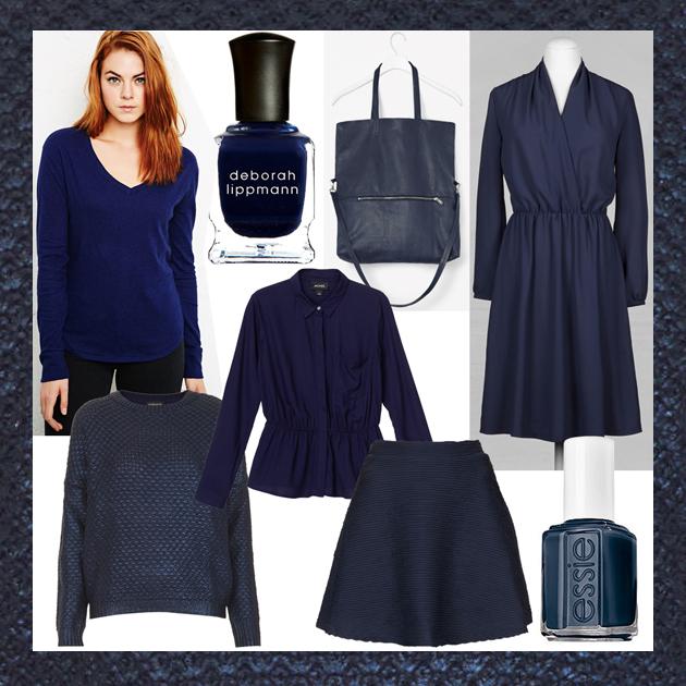 Blaues Kleid Mit Schwarz Kombinieren Modische Modelle Von Kleidern
