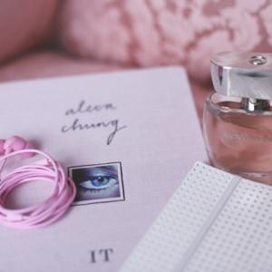 Mädchenrosa Mercedes Benz Parfum