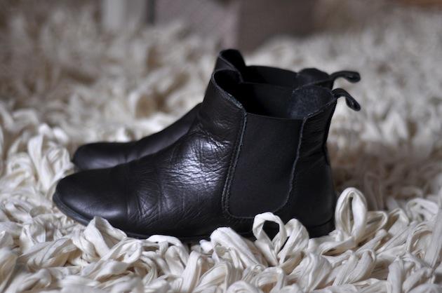 schwarze chelsea boots damen