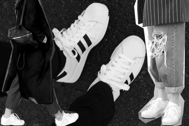 weiße schnürsenkel adidas superstar