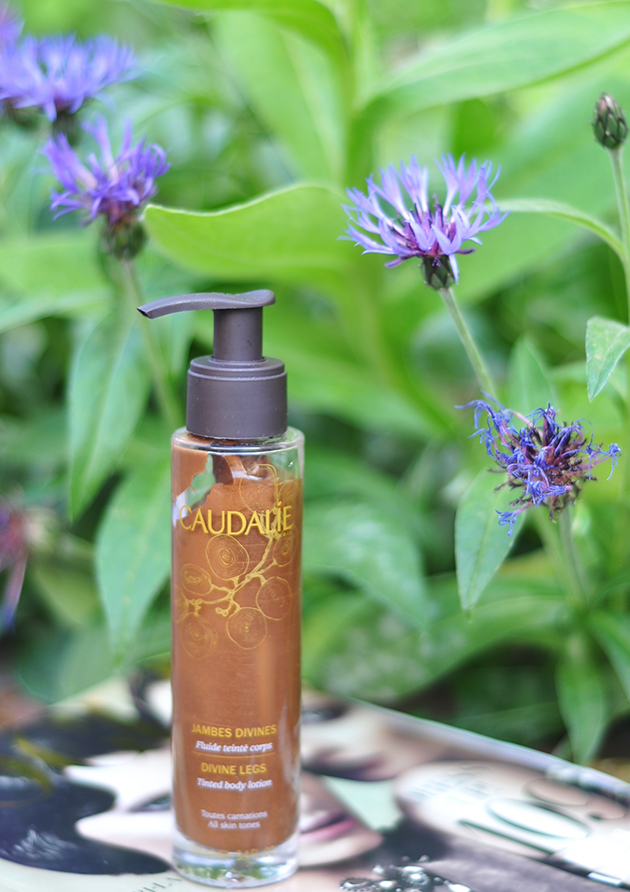 getönte body lotion caudalie