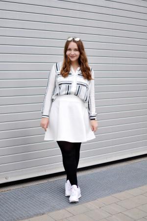 Outfit: Weiß, weiß, weiß sind alle meine Kleider