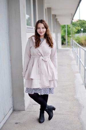 Outfit: Sommerkleid im Regen