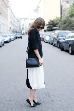 Outfit: Pleats Please