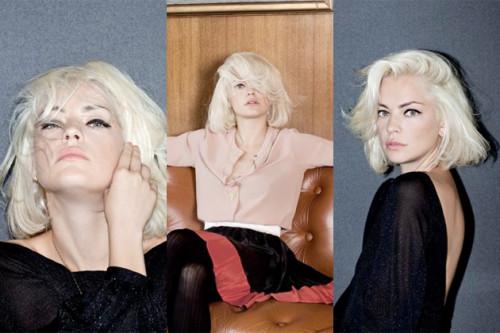 blond blonde hair
