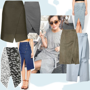 7fa4b062ab5c Shopping  Her mit den Wrapped Midi Skirts!
