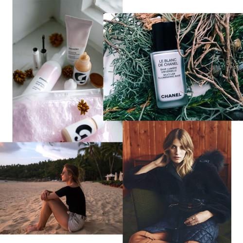 Glossier Le Blanc de Chanel Veronika Heilbrunner Thailand