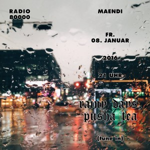 MAENDI MINAJ: Rainy Days, Pusha Tea