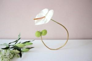 DIY: Runde Messingrohr-Vase