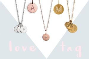 Valentinstag: Gewinnt ein Love Tag Necklace von Jane Koenig