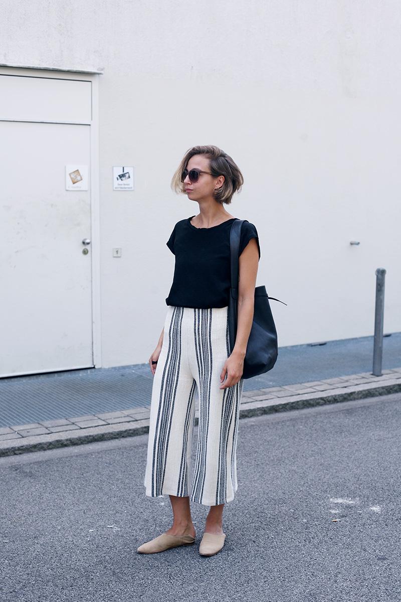 Outfit Streifen Culotte Amazed