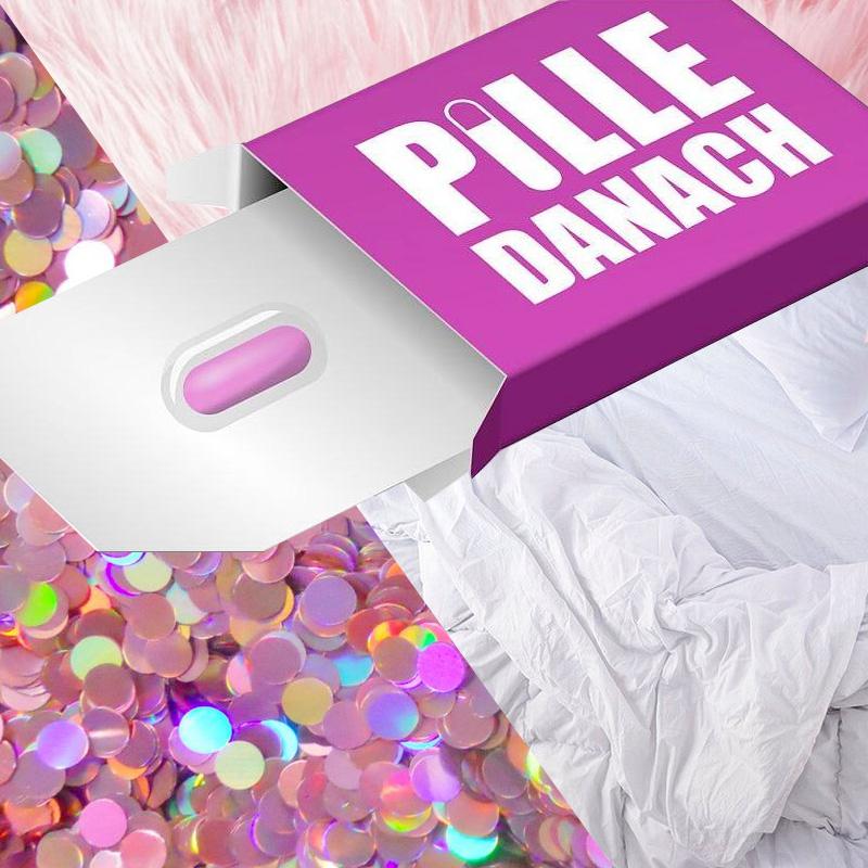 Danach periode verschoben 2 pille Pille danach
