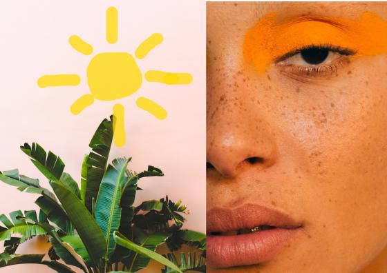 Sunscreen over Makeup