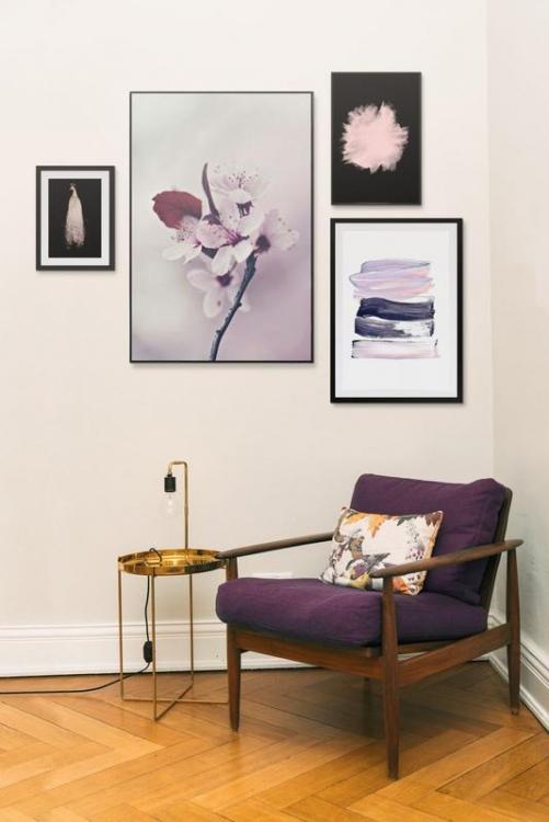 wohnen 5 goldene regeln der wandgestaltung amazed. Black Bedroom Furniture Sets. Home Design Ideas