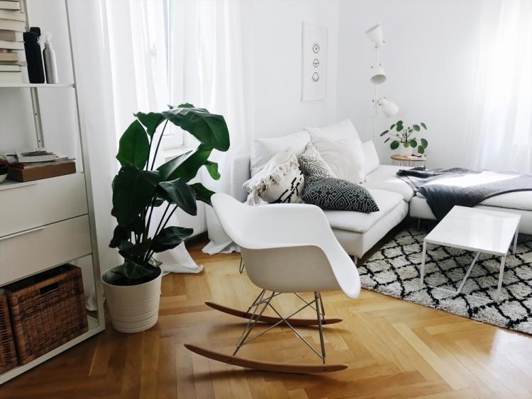 Roomtour Leben Und Arbeiten Zu Hause Antonias Wohnzimmer Amazed
