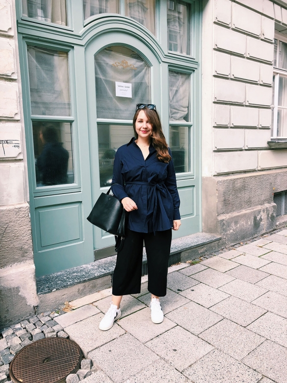 Outfit: Die Business Bluse amazed