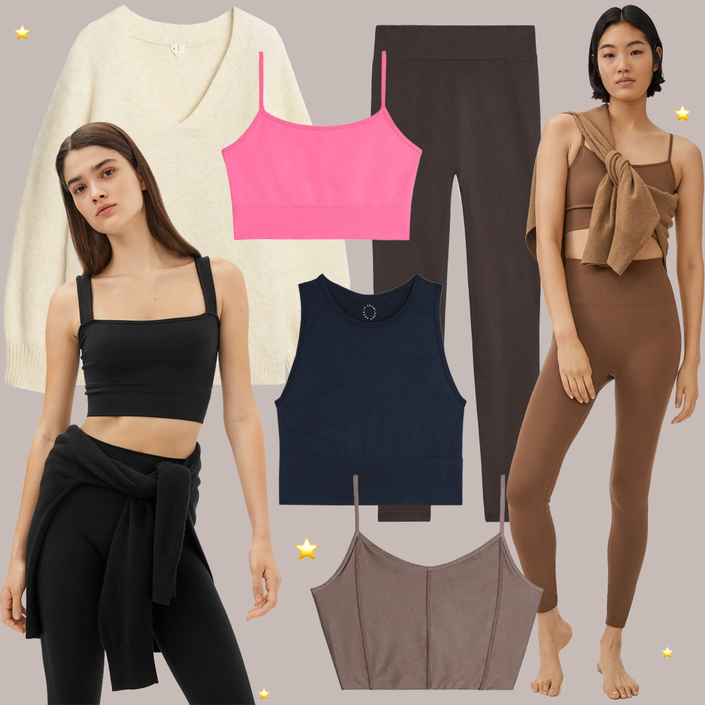 arket yoga seamless collection