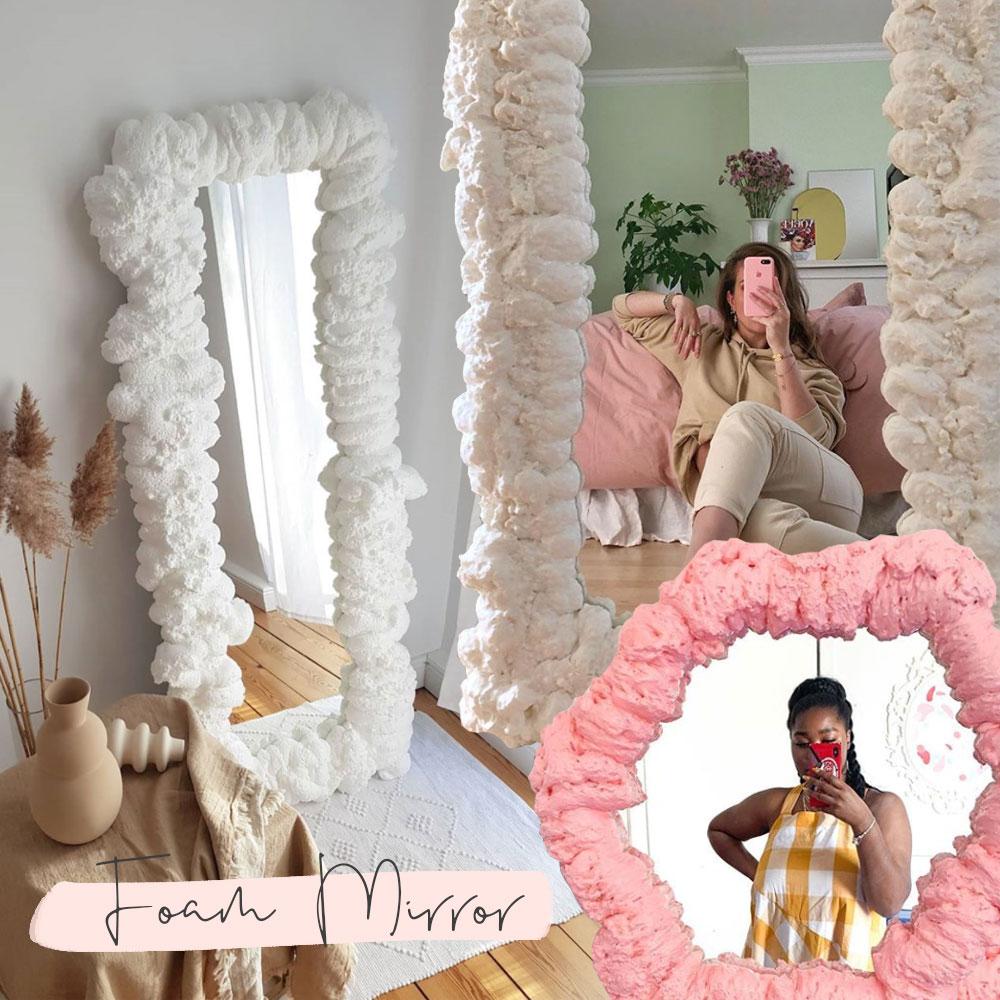 Foam Mirror DIY Gustaf Westman