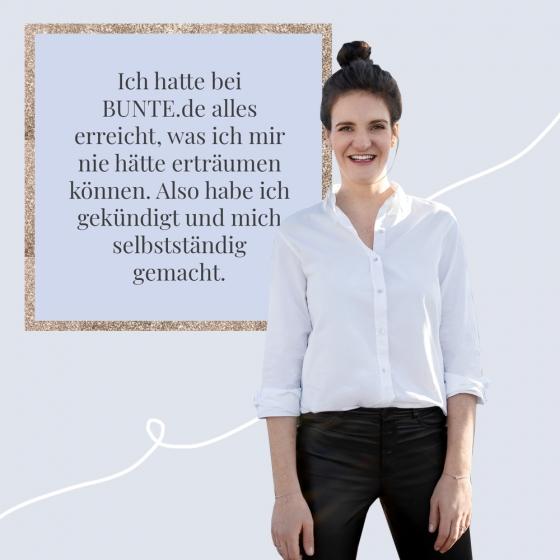 Julia Dettmer Bunte.de Chefredakteurin