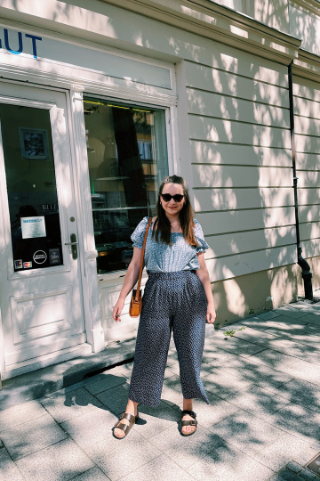Sommeroutfit Culotte &other stories